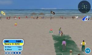 Cricvision Beach Cricket
